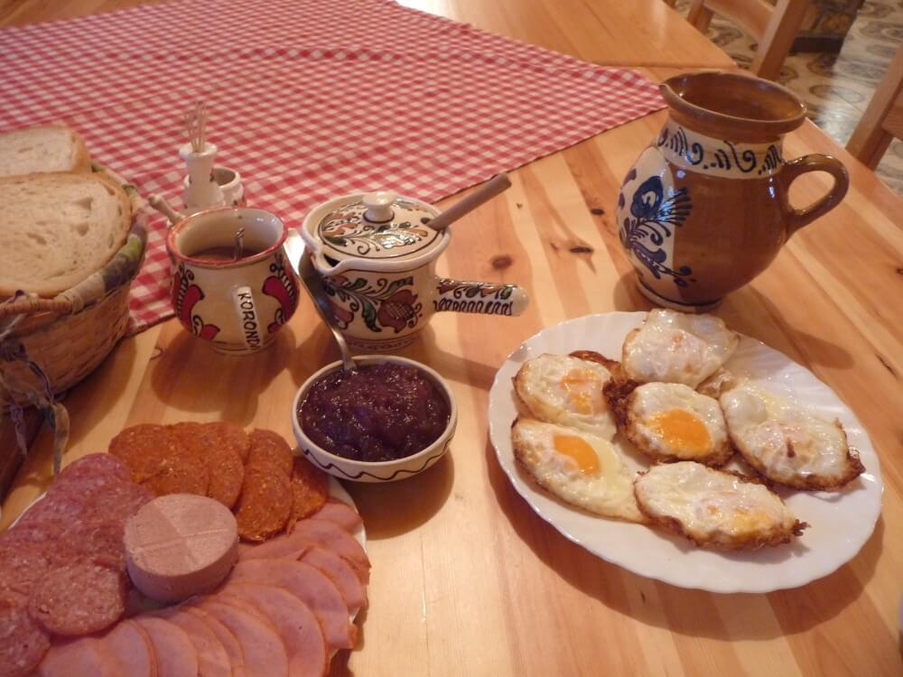 Bableves-Vendéghéz-Frühstück