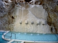Höhlenbad-Wasserfallduschen