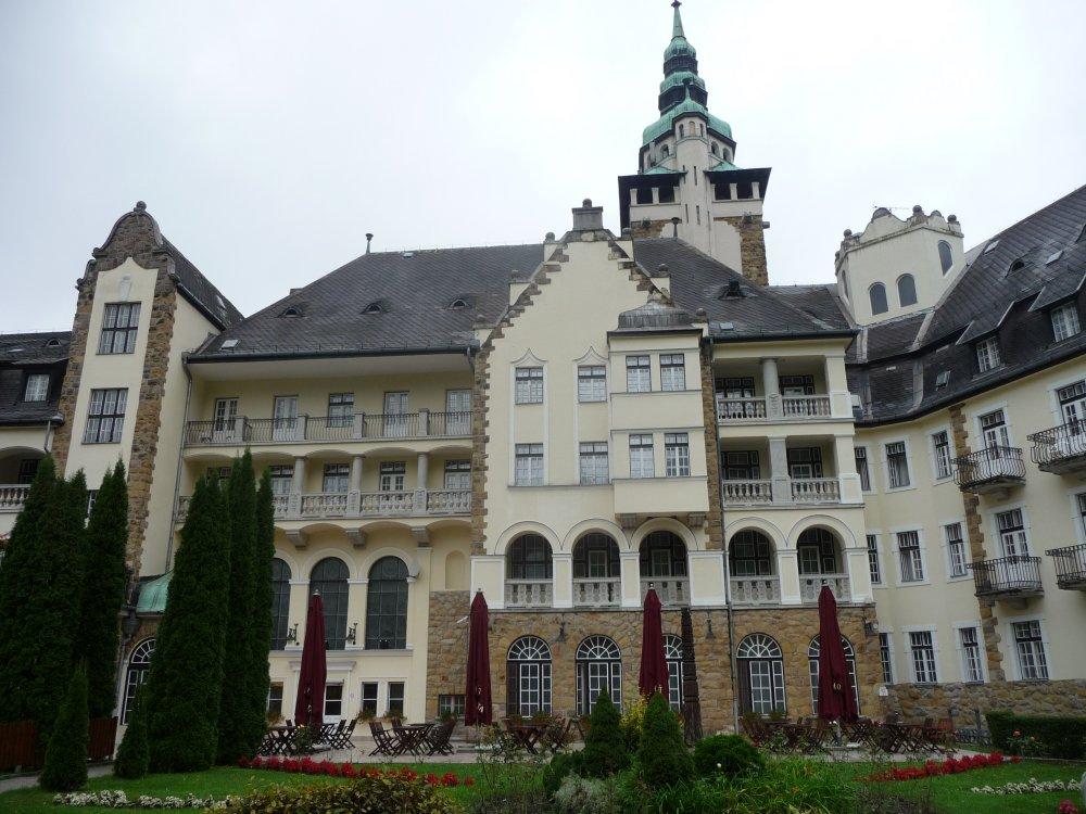Hotel Palota, Hinteransicht