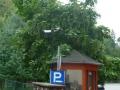 Hotel Palota, Parküberwachung