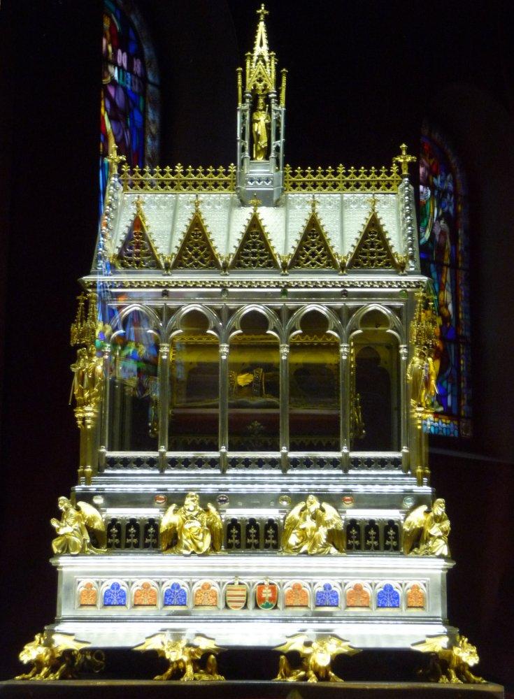 St.-Stephans-Basilika, Reliquienschrein