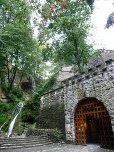 Eingang zur Anna-Höhle in Lillafüred