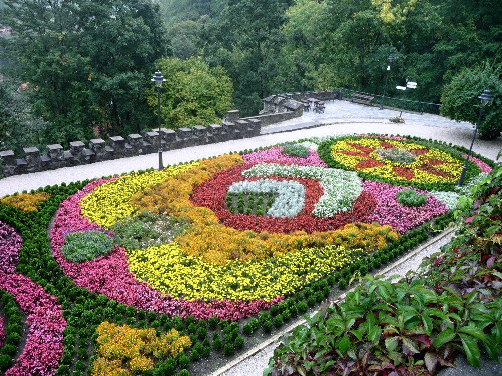 Hängende Gärten von Lillafüred