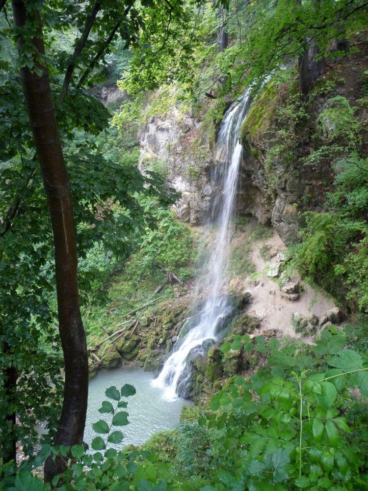 Wasserfall von Lillafüred