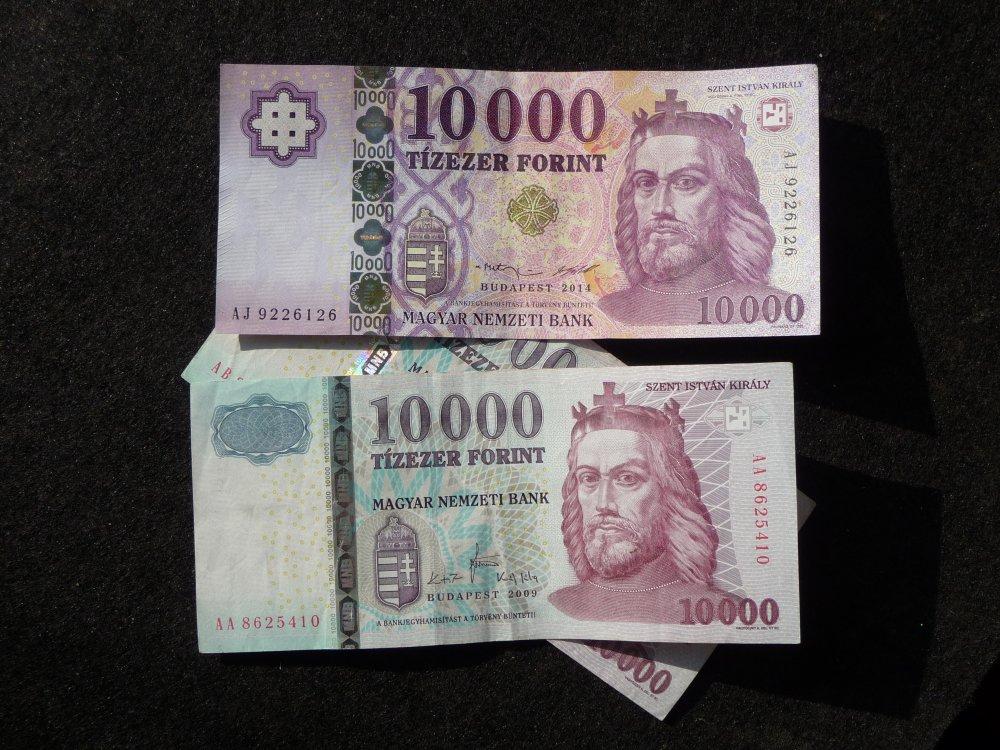 1000 Forint, alt undneu
