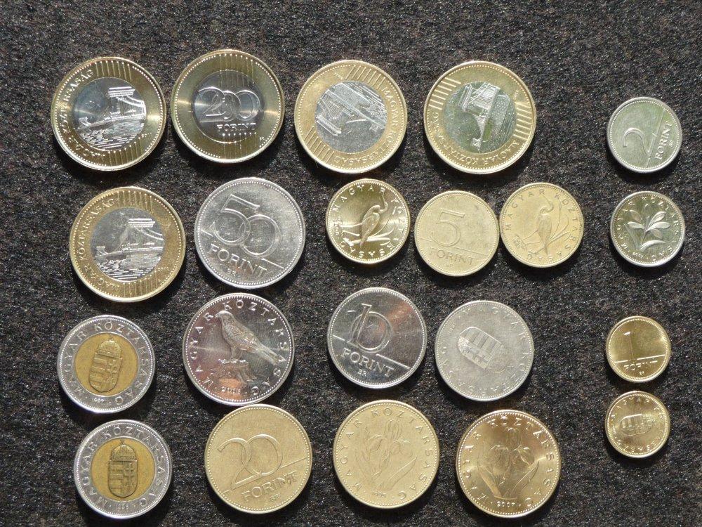 Forintmünzen
