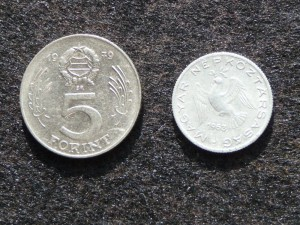 Forintmünzen, alt
