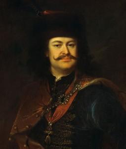 Ferenc II. Rákóczi, gemalt von Mányoki