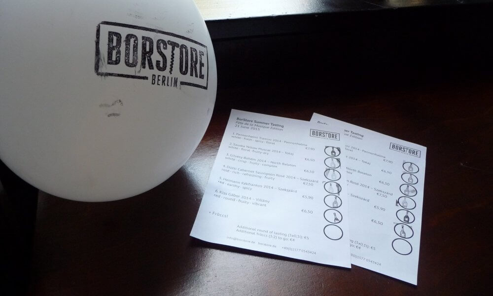 BorStore-Verkostung und Liste