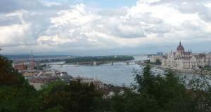 Budapest, Donaublick zur Margaretenbrücke