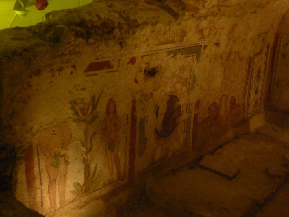 Frühchristliche Grabkammer in Pécs