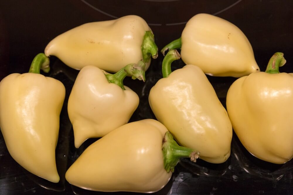 Bogyiszloi paprika - die scharfen Spitztüten
