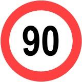 Tempolimit 90