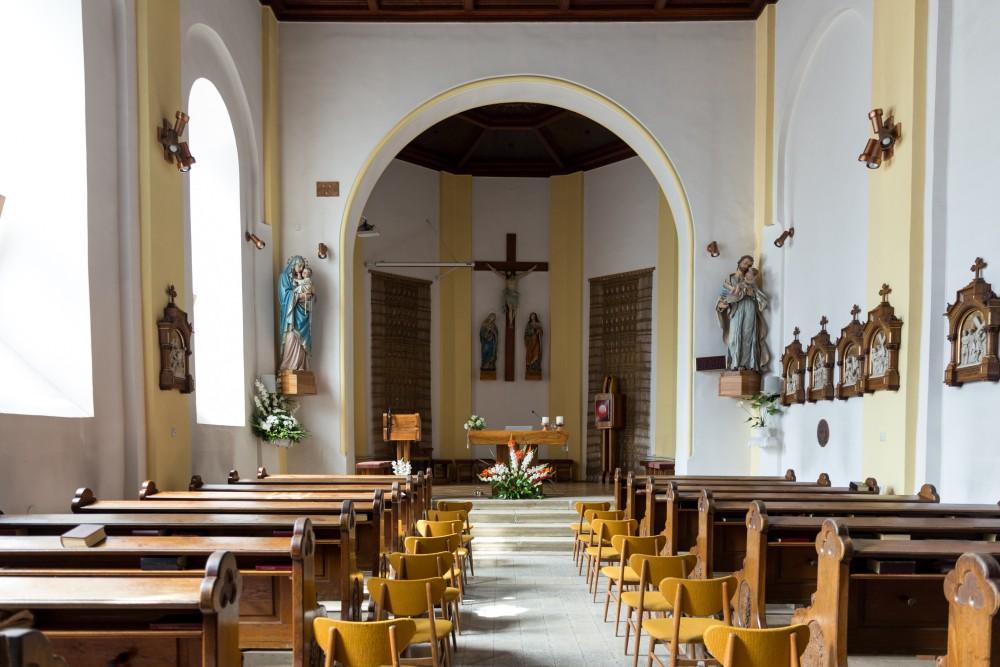 Kalvarienkirche Szombathely, innen