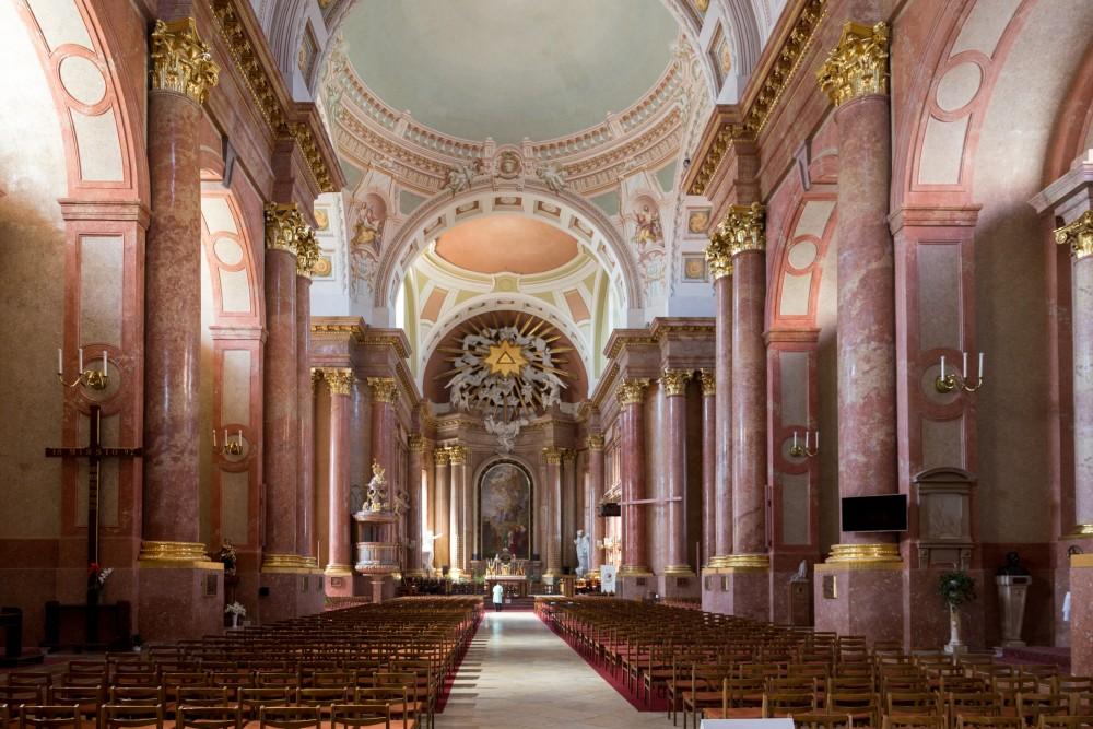 Kathedrale Szombathely, Innenansicht