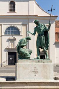 Sankt Martin Brunnen Szombathely