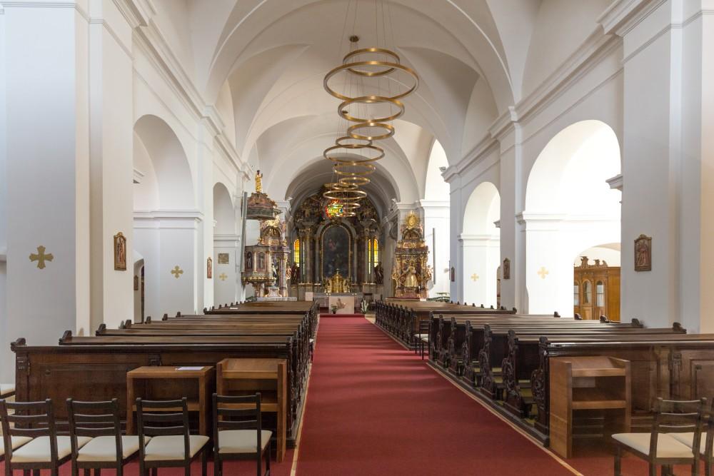 Sankt Martin Kirche Szombathely, Innenansicht