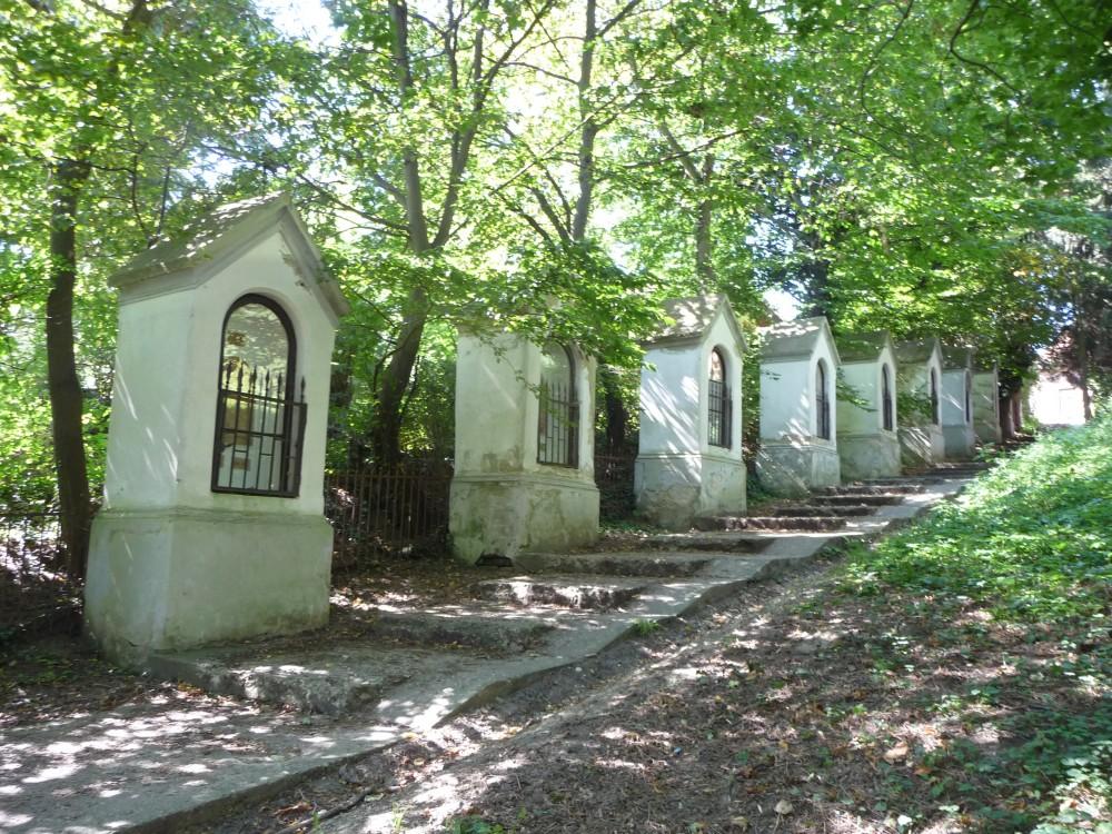 Stationskapellen am Kalvarienberg Szombathely