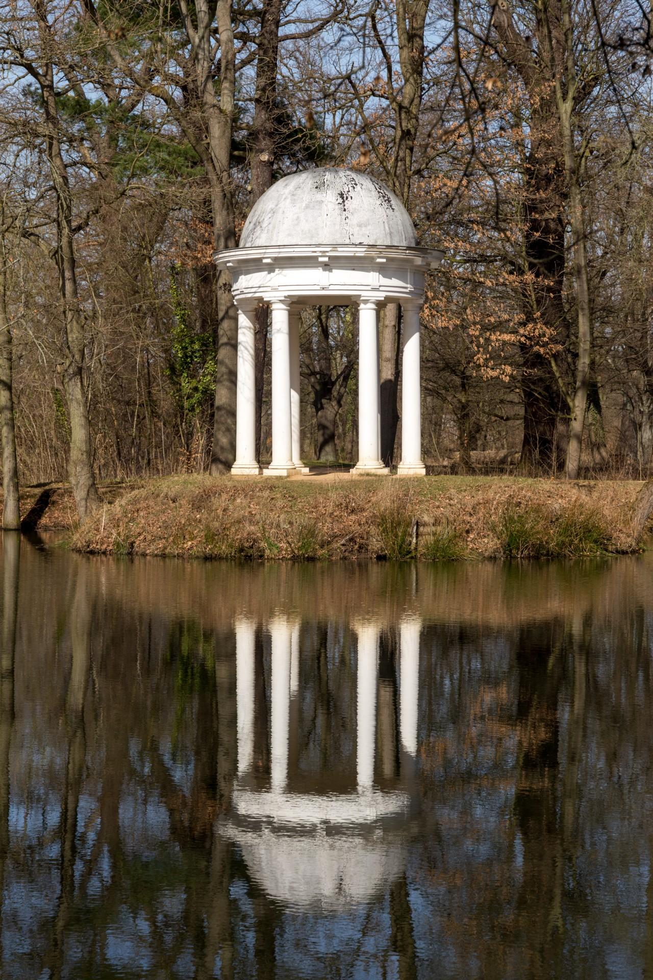Dianatempel, Schlosspark Lützschena
