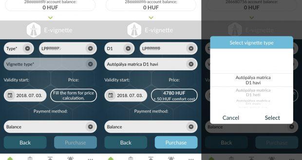 Neue Vignette konfigurieren in der App