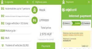 Mauterwerb für Ungarn per App