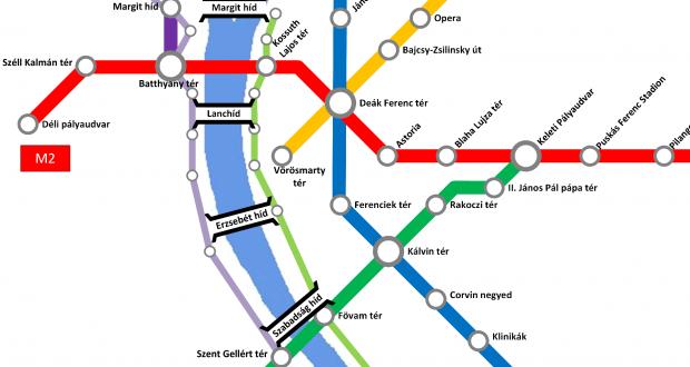 Metro-Plan Budapest (Auswahl)