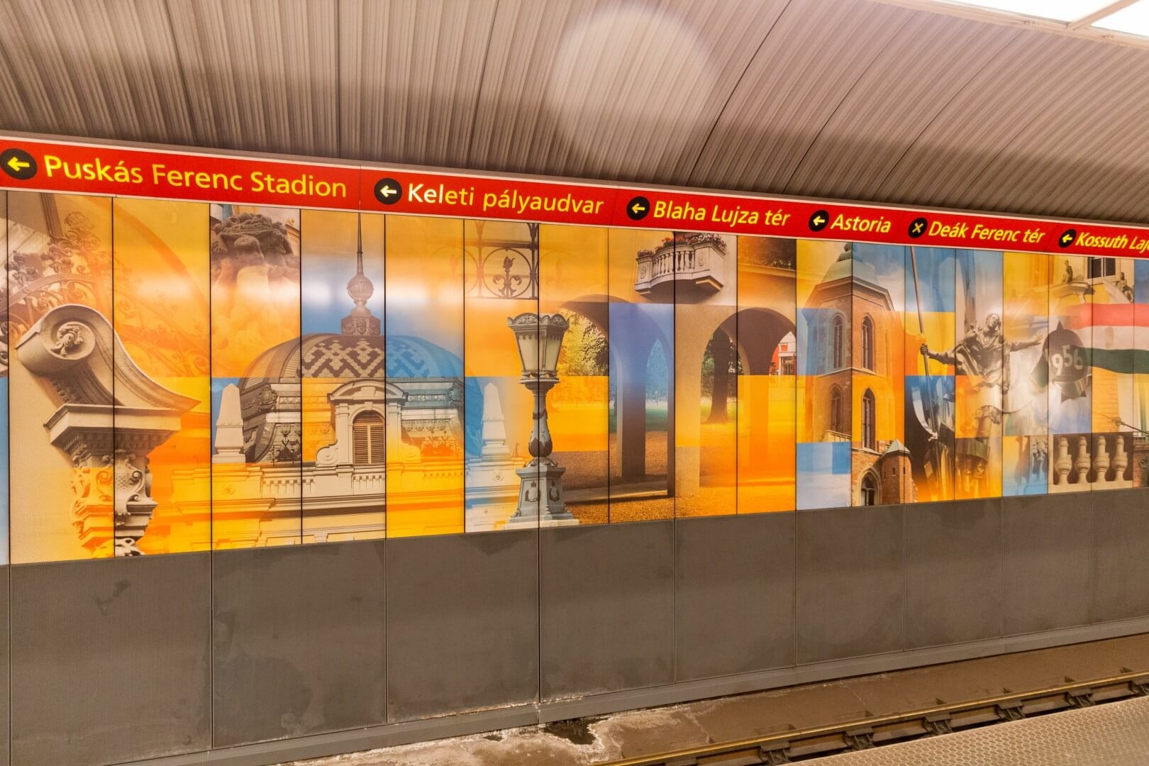 In der Metrostation Széll Kalmán ter