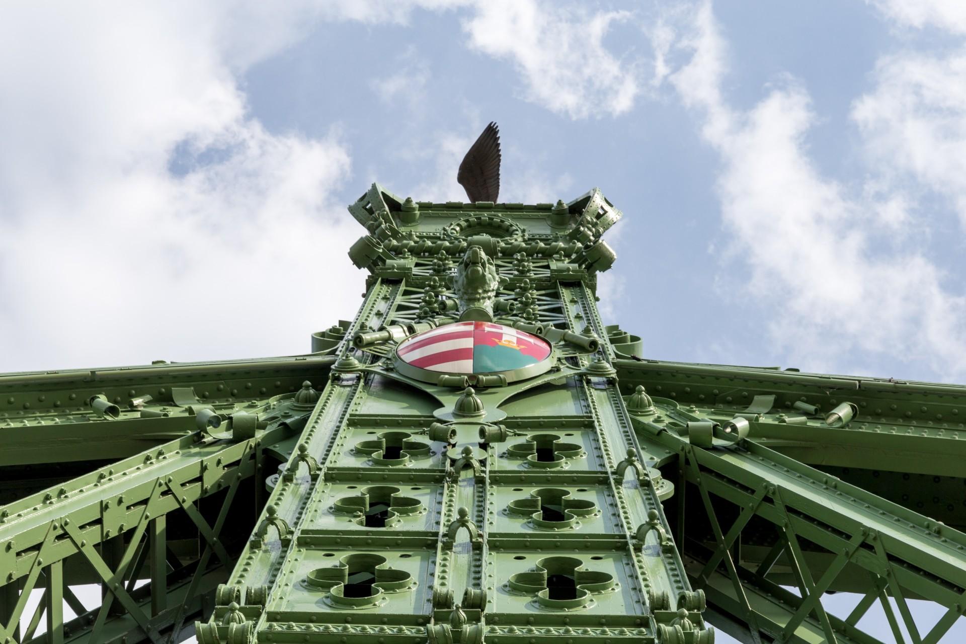 Freiheitsbrücke (Szabadság híd) Budapest, Konstruktion