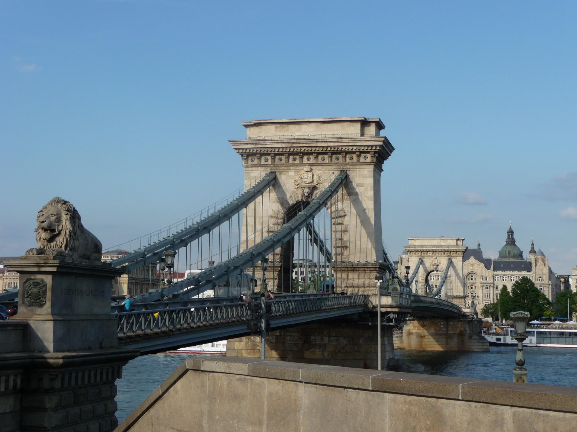 Kettenbrücke Budapest (Szechenyi lanchíd)