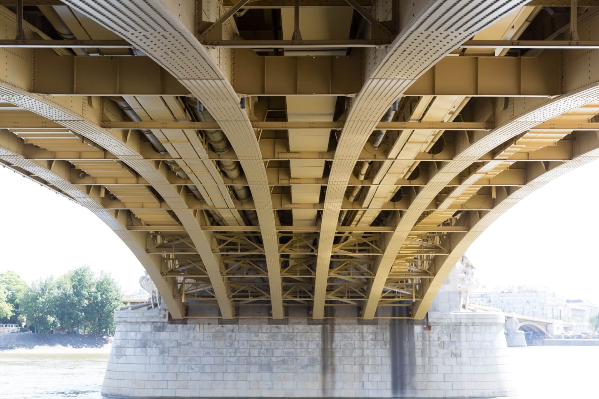 Konstruktion der Margaretenbrücke