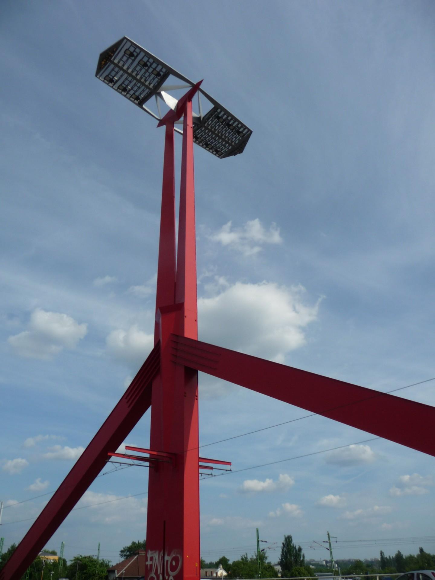 Pfeiler der Rakoczi híd Budapest