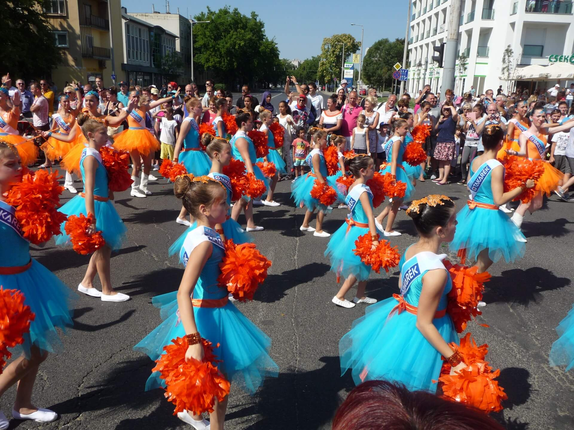 Blumenkarneval Debrecen, Kindertanzgruppe