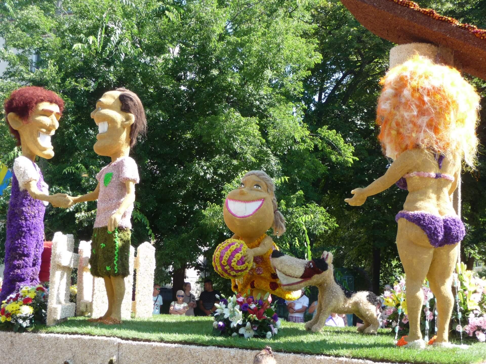 Blumenkarneval Debrecen, Wagen Haidu