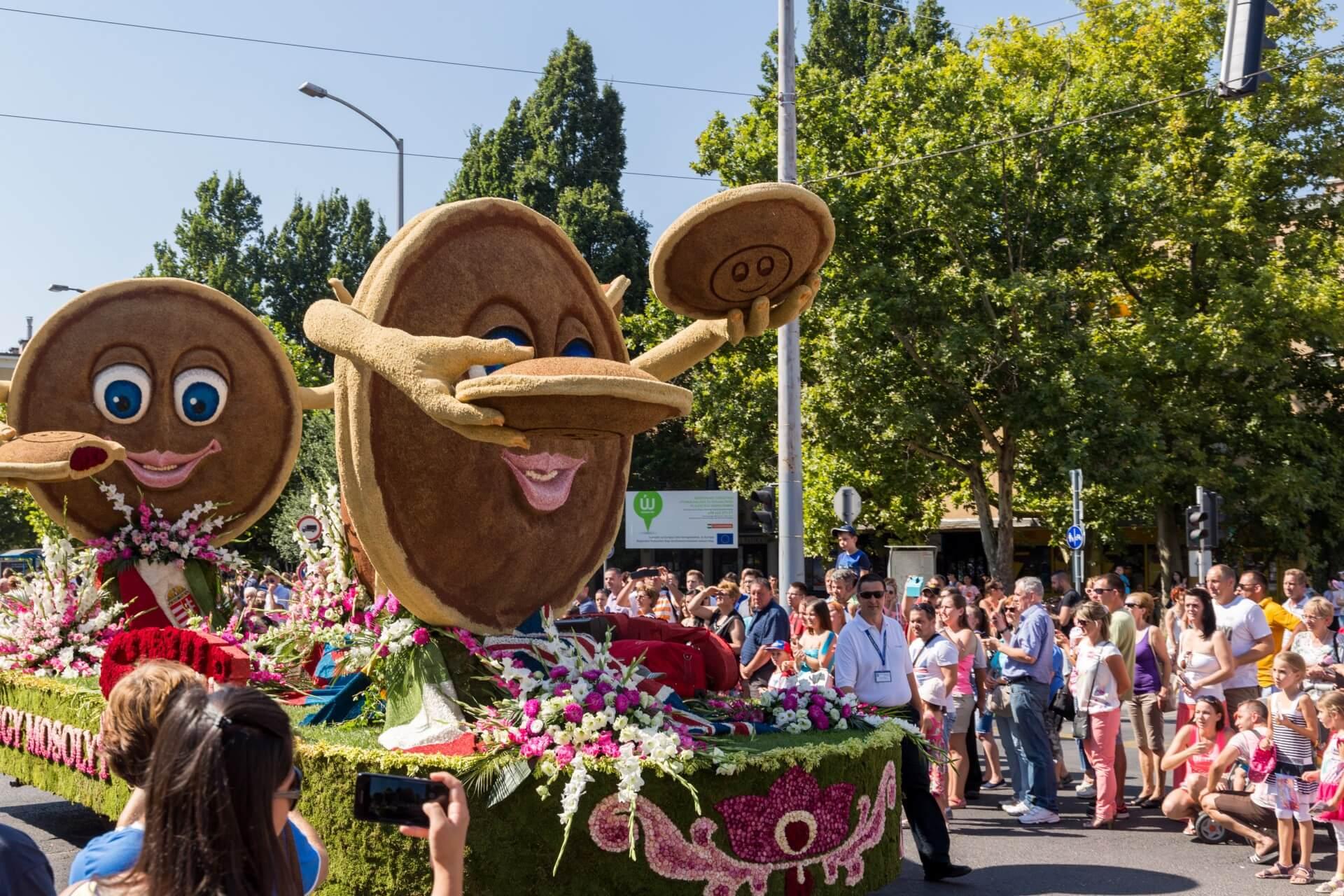 Blumenkarneval Debrecen, Wagen Palatschinken