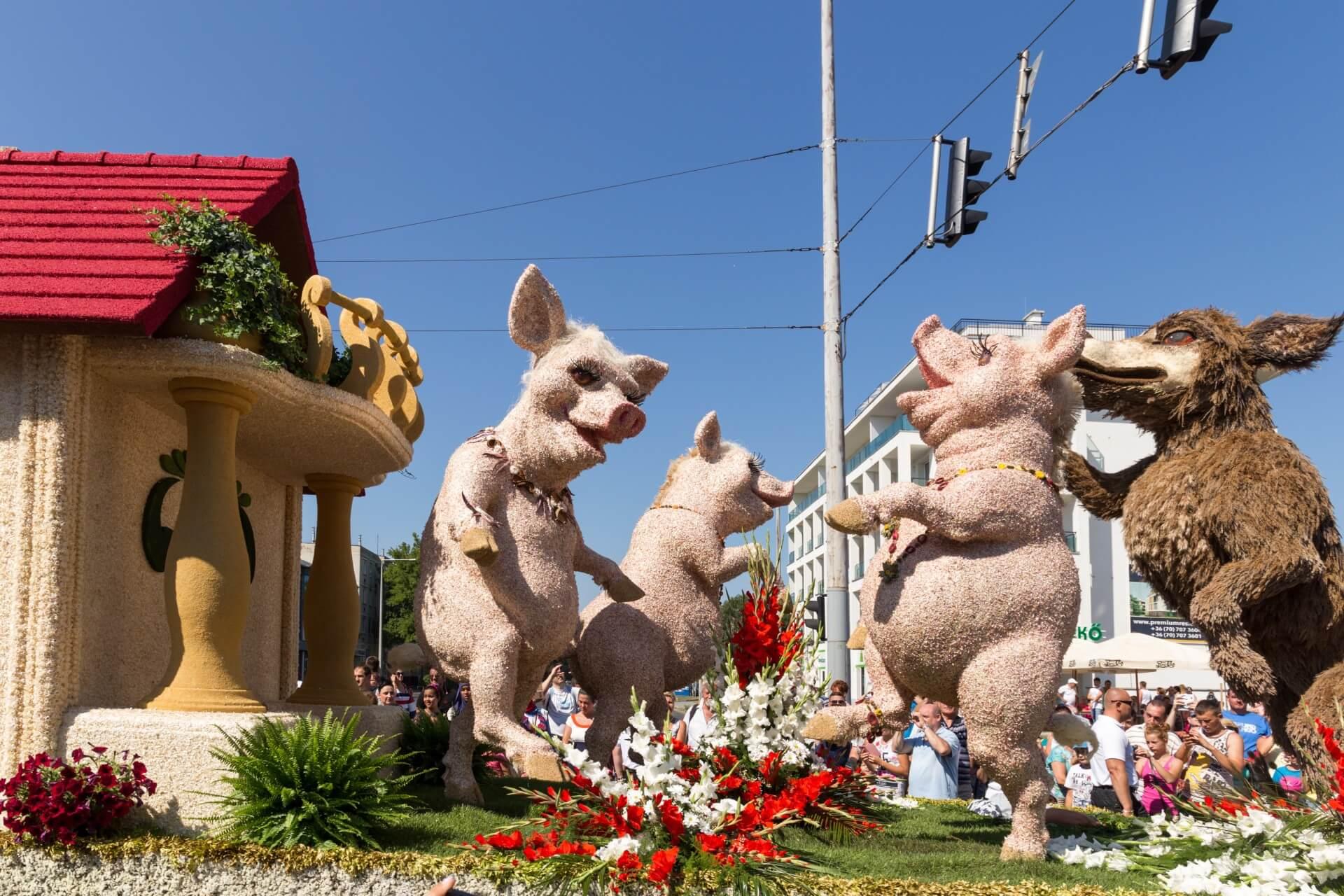 Blumenkarneval Debrecen, Wolf & Geisslein