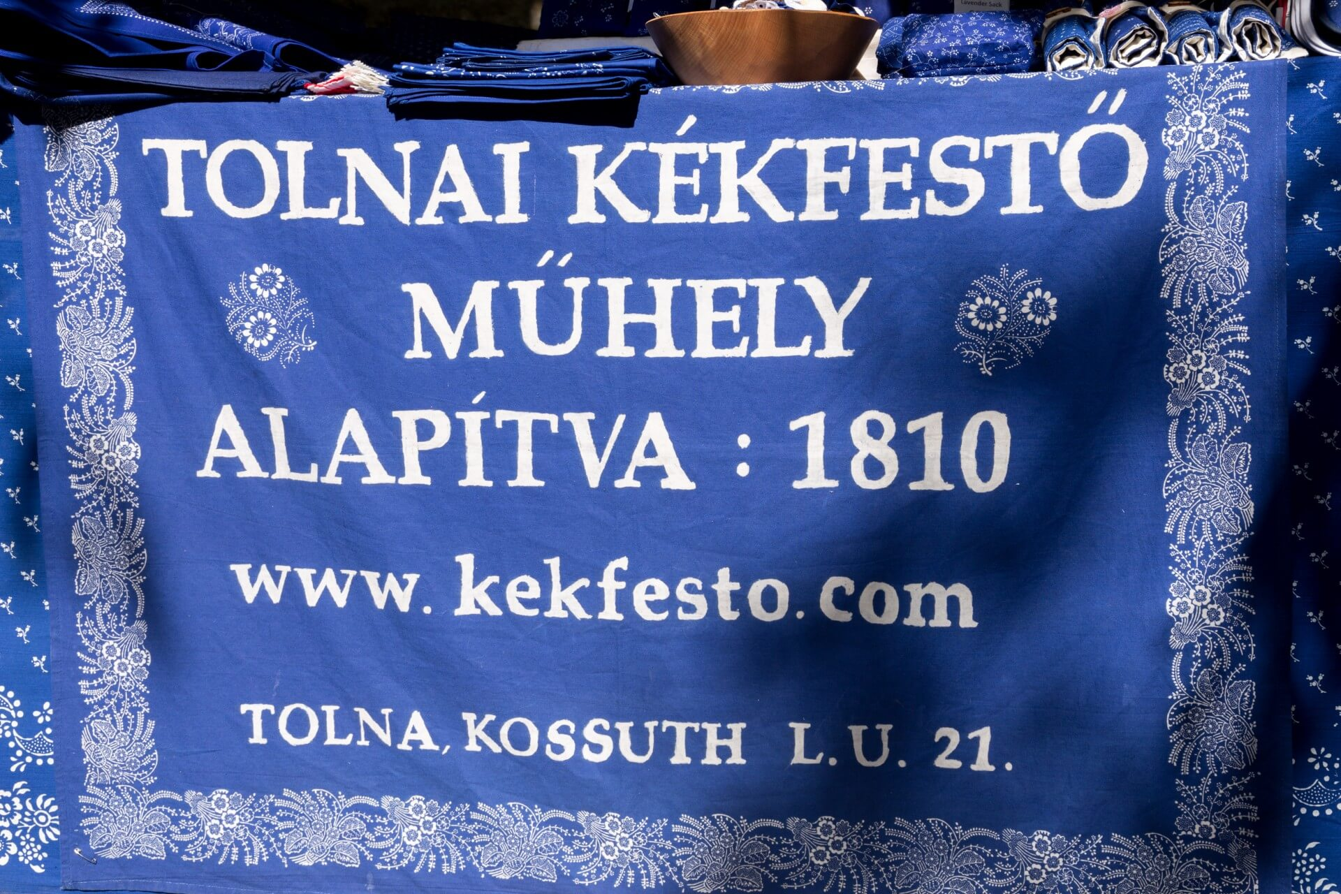 Blaudruck aus Tolna