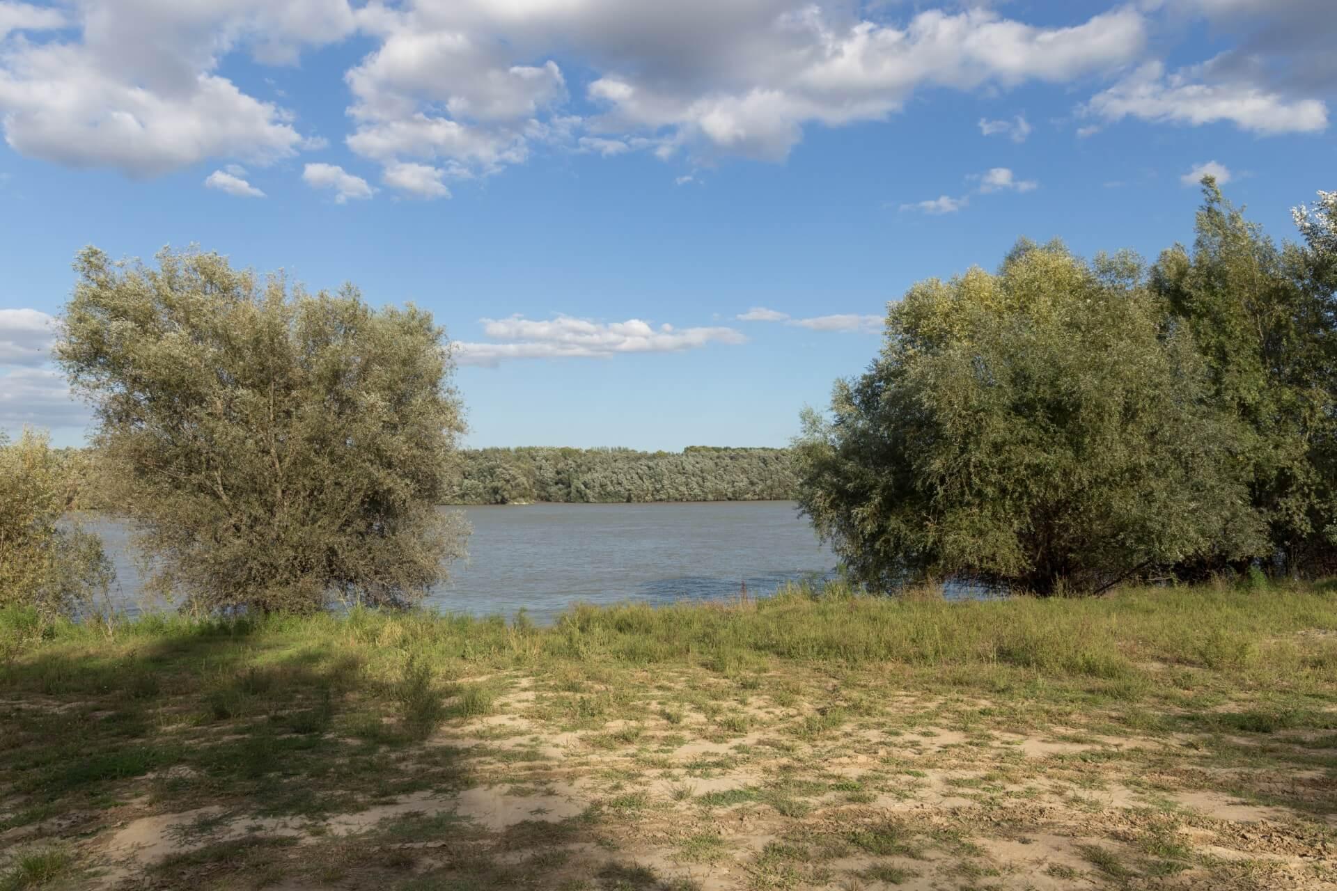 Donauufer bei Bogyiszló