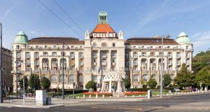Hotel Gellert Budapest, Fassade