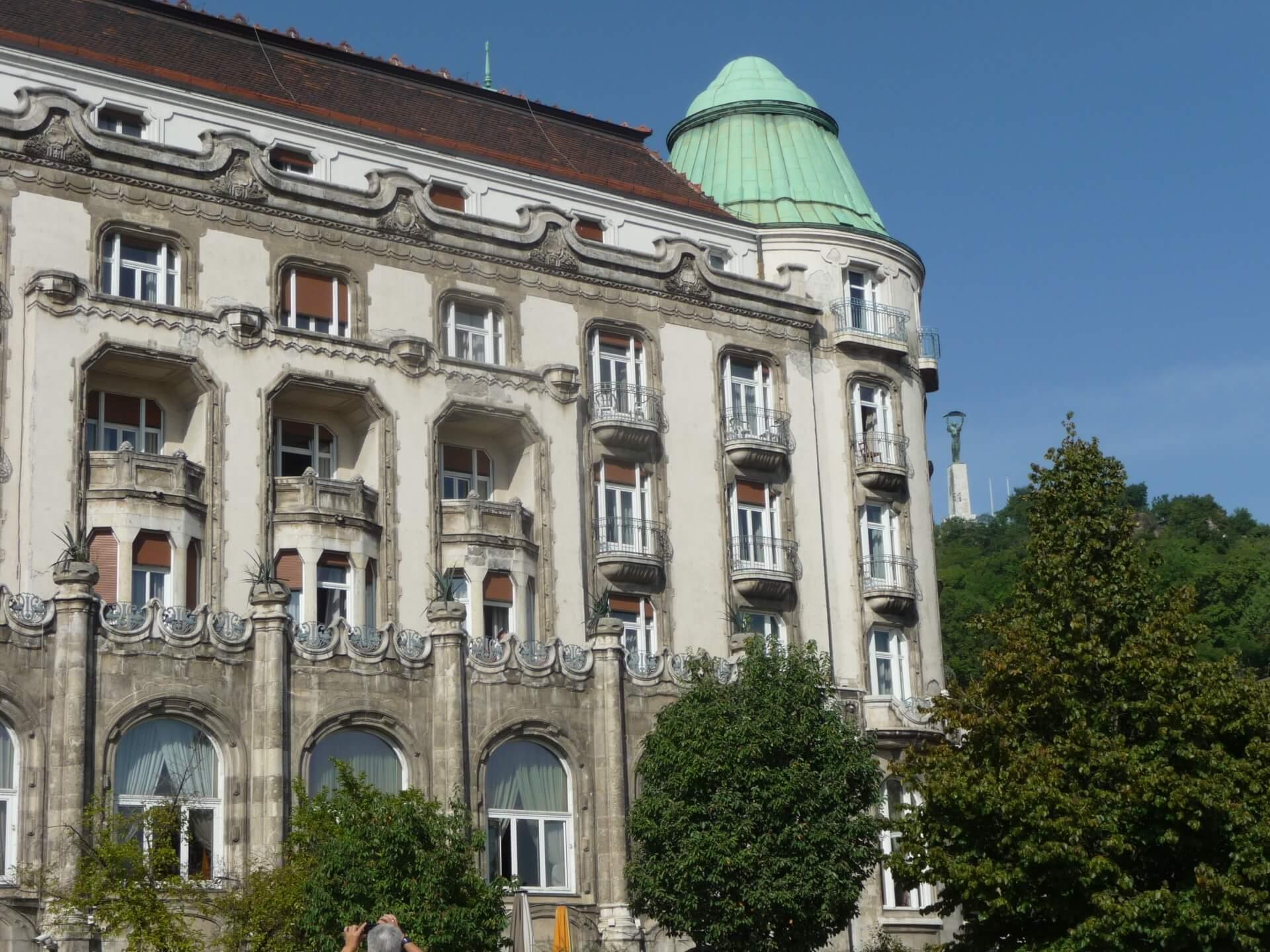 Fassadendetail, Hotel Gellért Budapest