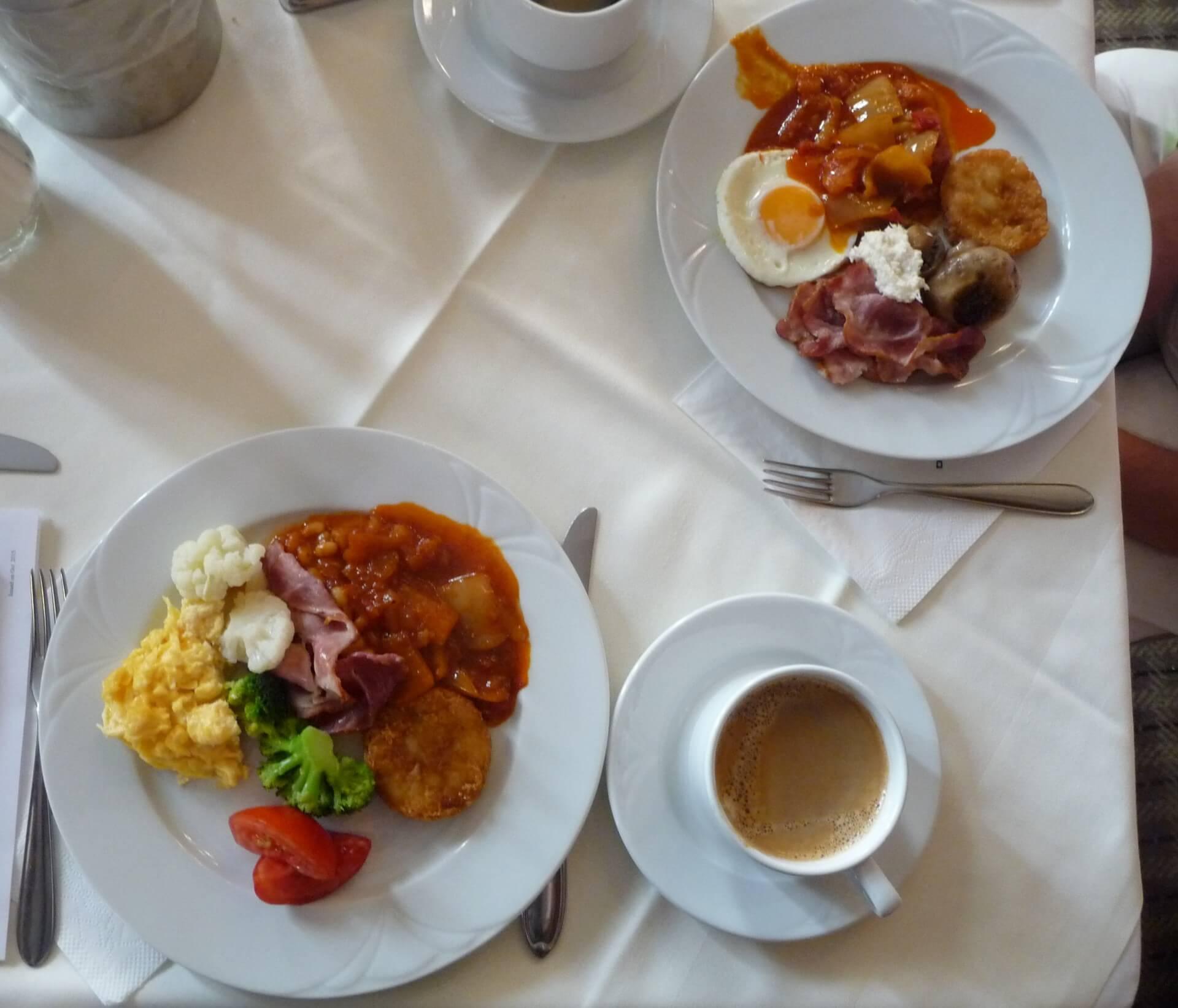 Frühstück im Gellért Budapest