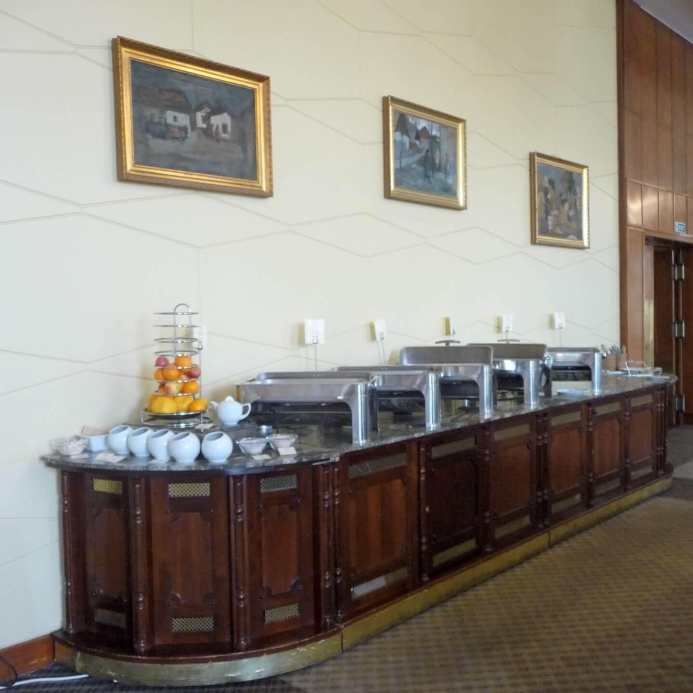 Warmes Buffet im Gellért Budapest