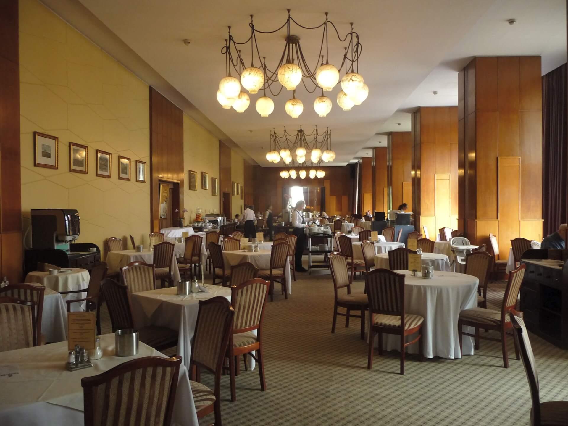 Frühstücksraum, Hotel Gellért Budapest