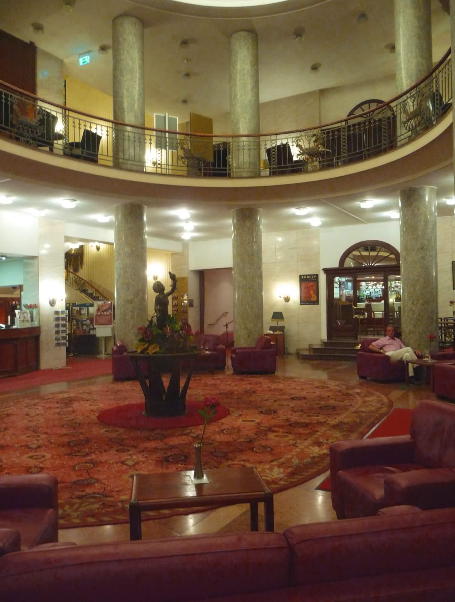 Lobby vom Hotel Gellért Budapest