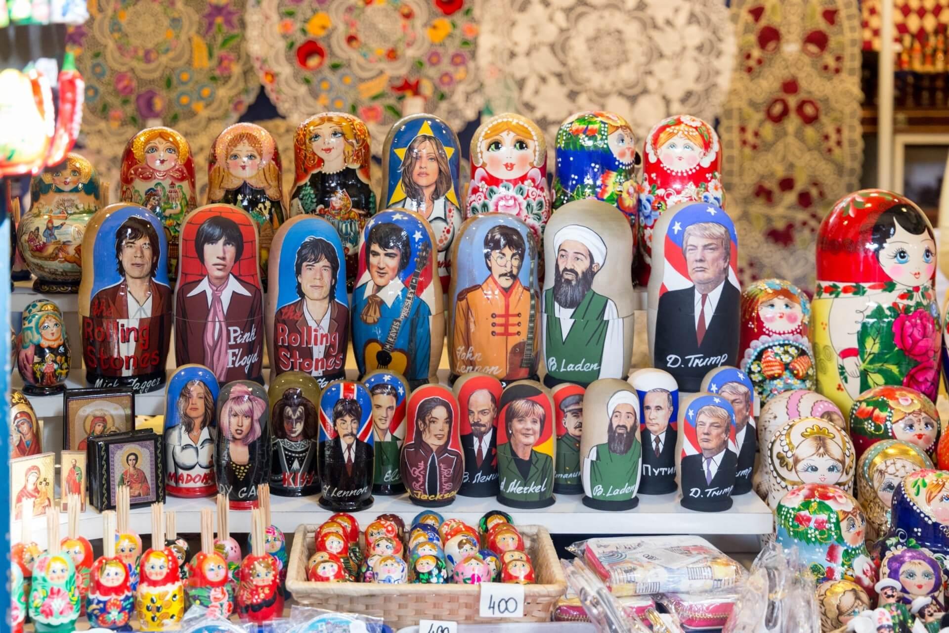 Kitsch und Souvenirs, Markthalle Budapest