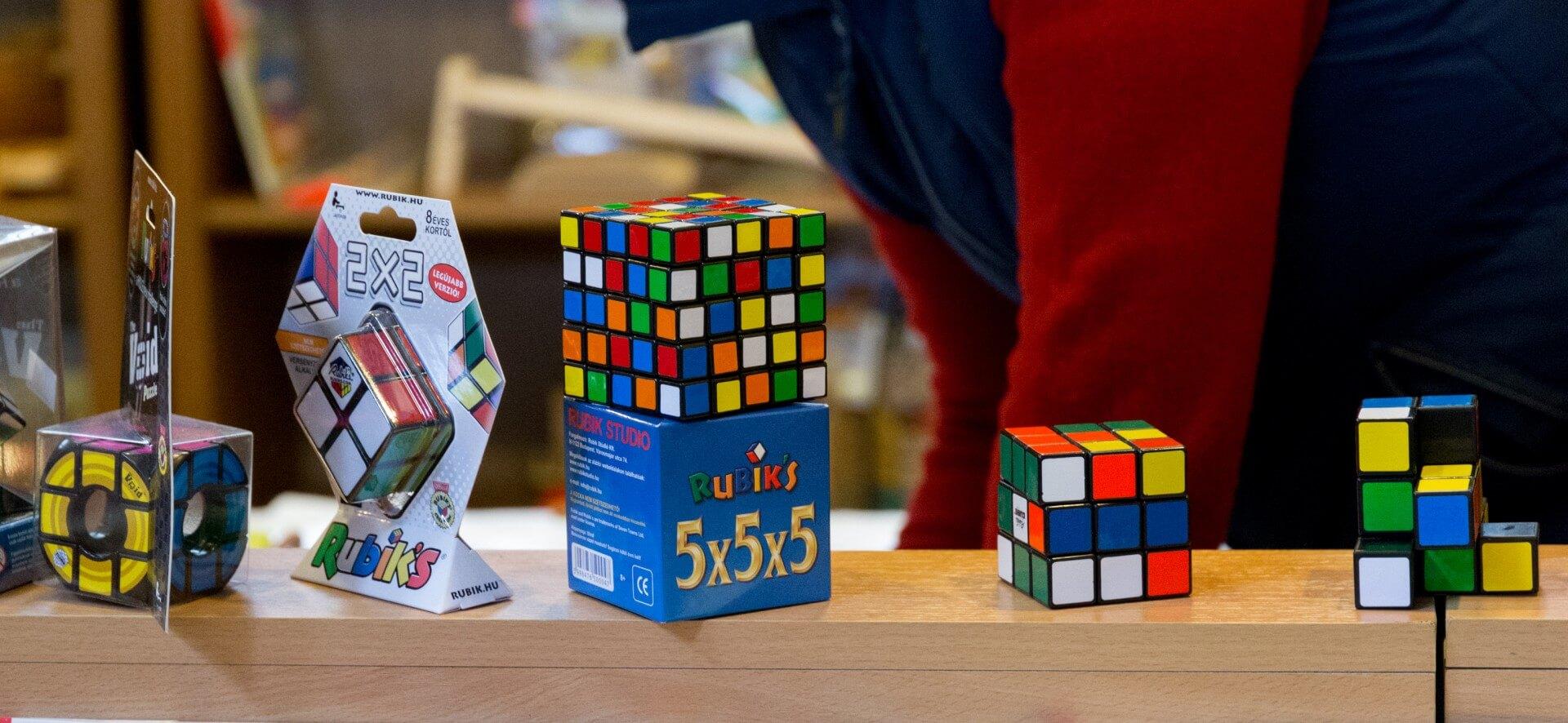 Rubik's Cube - der Zauberwürfel aus Ungarn, Markthalle Budapest