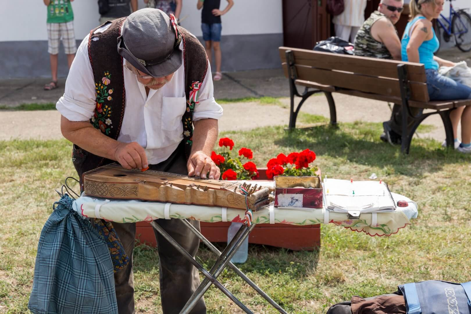 Zither-Spieler in Hortobágy