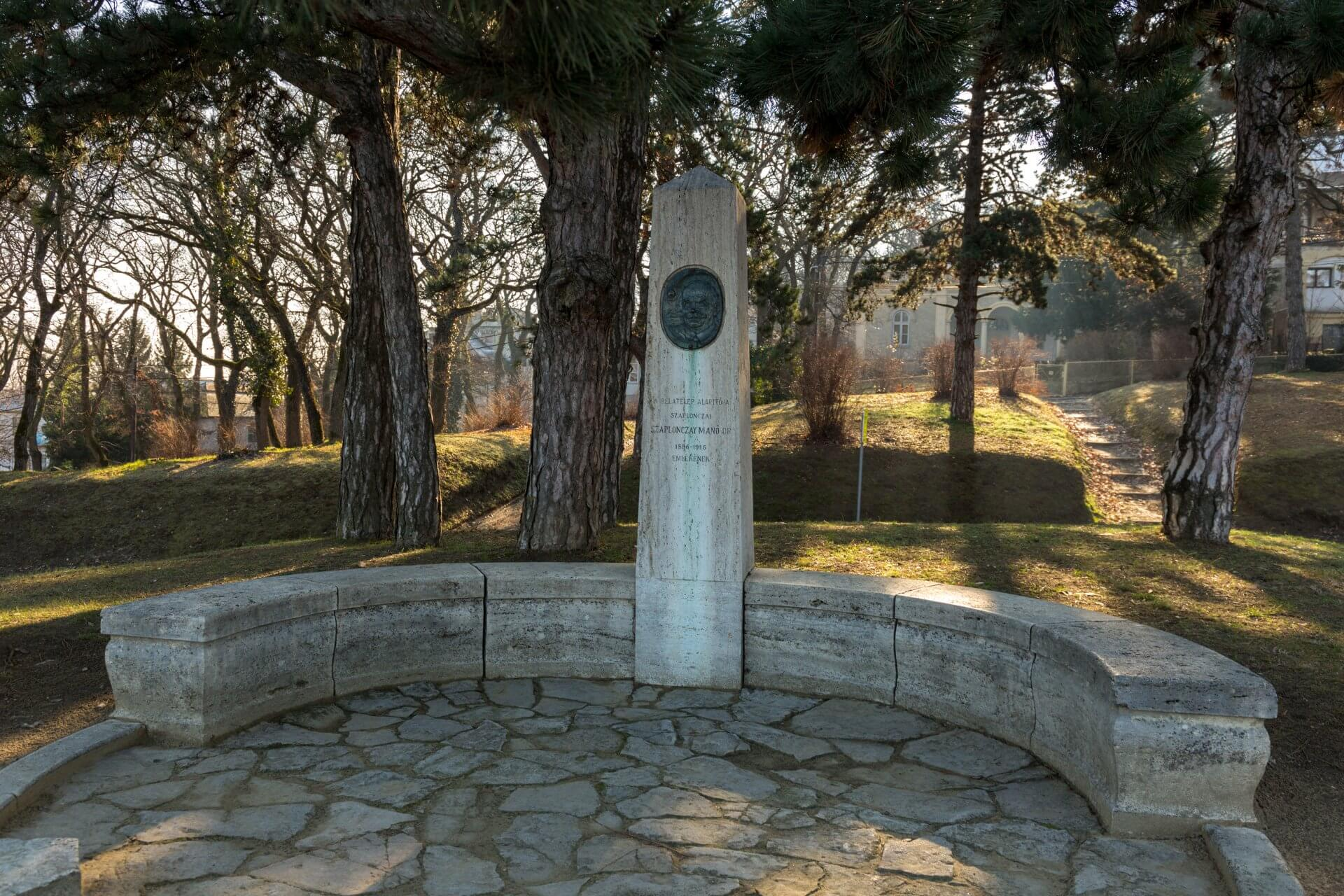 Denkmal für Szaplonczay