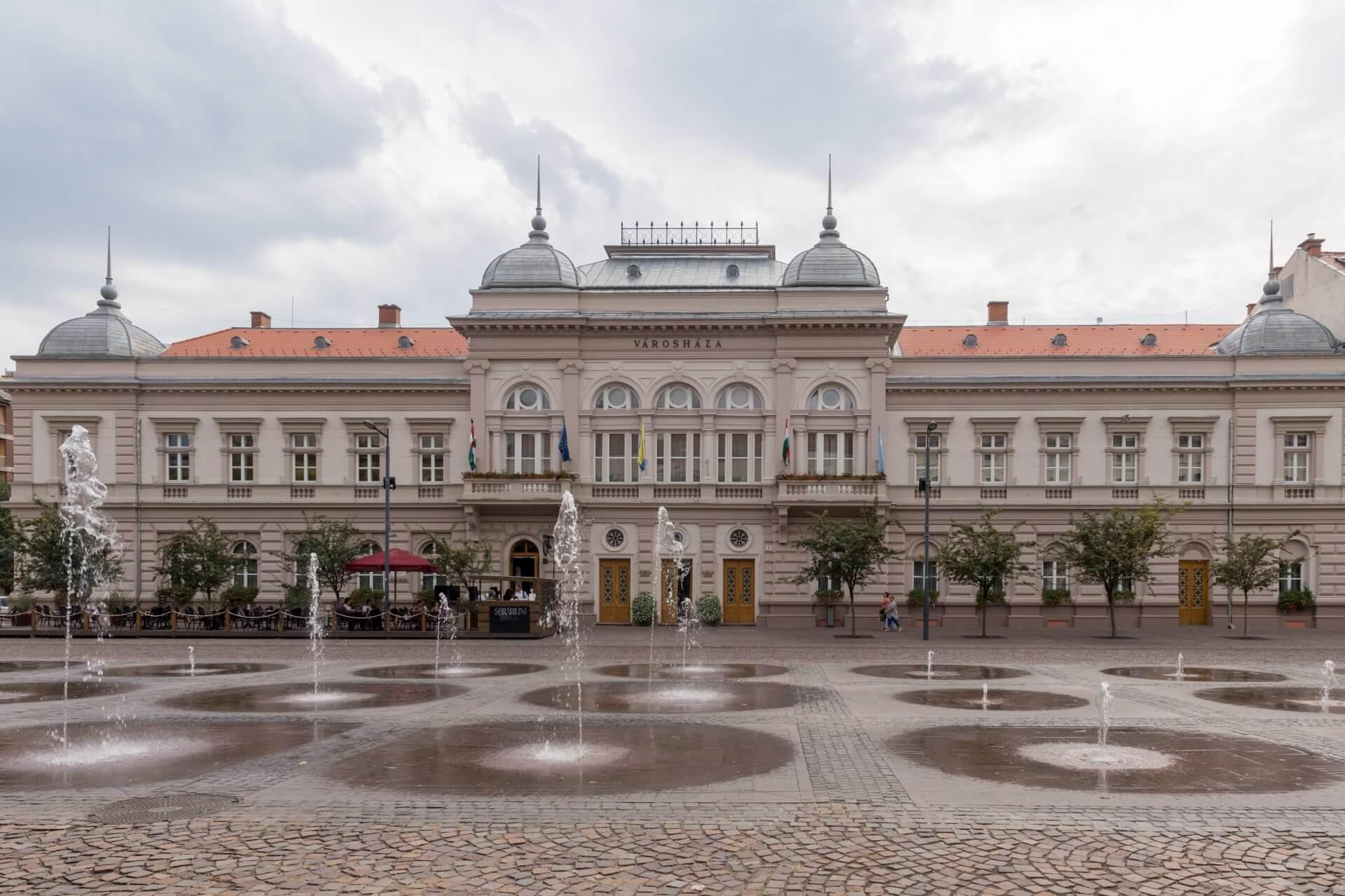 Rathaus Szolnok