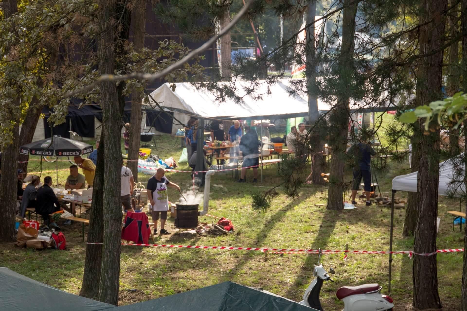 Gulaschfest Szolnok im Gelände