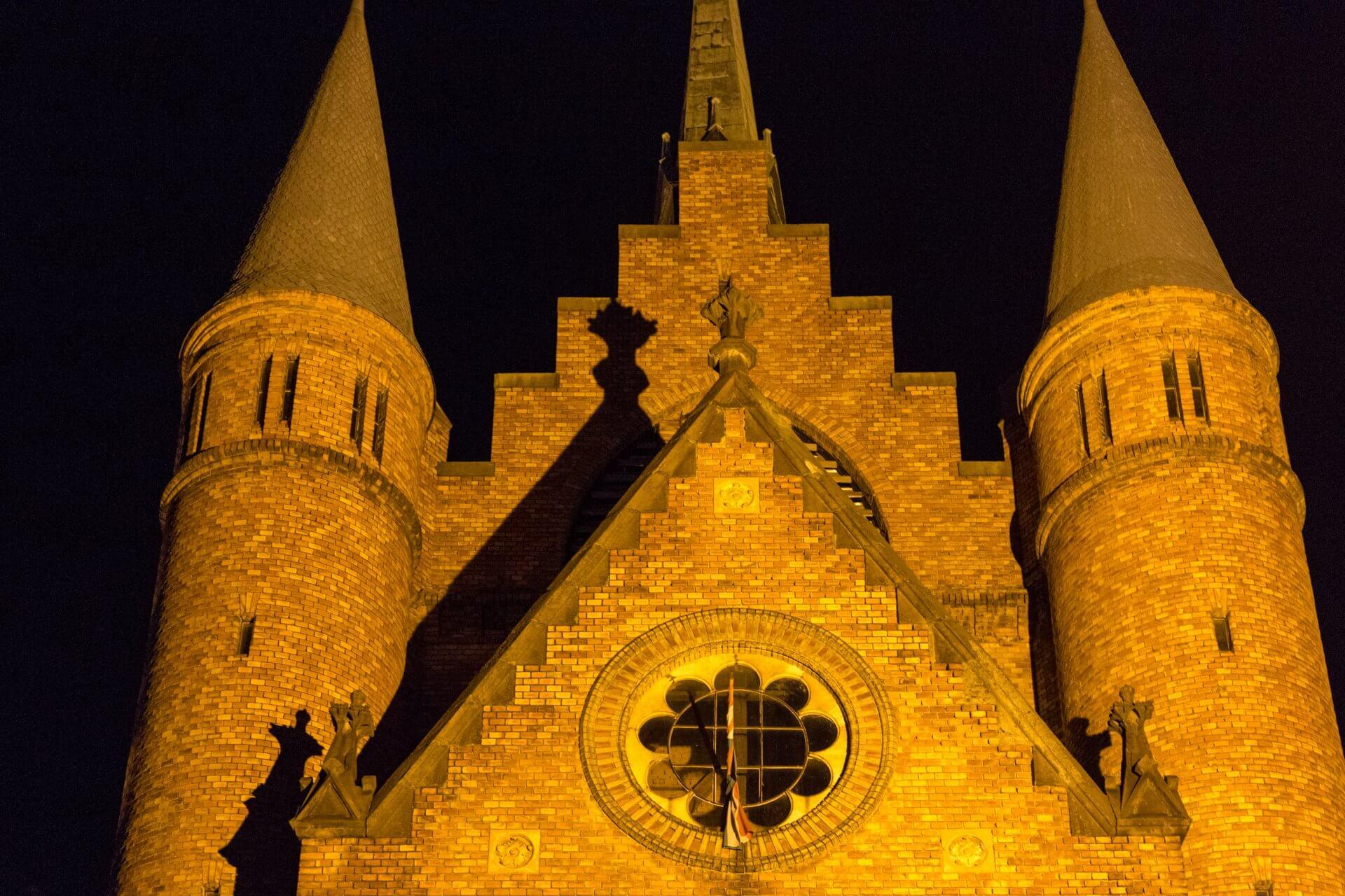 Backsteinbau der reformierten Kirche Szolnok